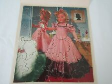 Vintage Effanbee Little Lady Fancy Dress Doll Jigsaw Puzzle
