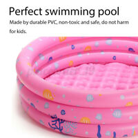Round Inflatable Kids Swimming Pool Baby Ocean Ball Toddler Water Play Summer