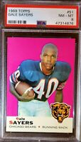 1969 Topps #51. Gale Sayers. PSA 8 (POP 283) HOC85🔥