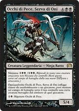Occhi di Pece, Serva di Oni - Ink-Eyes, Servant of Oni MTG MAGIC Planechase Ita