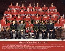 1979 MONTREAL CANADIENS TEAM PHOTO 8X10