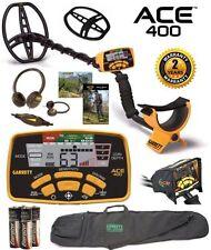 Garrett Ace 400 Metal Detector w/ Free Accessory Bundle Plus Waterproof Coil~New