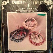 Basket Tree Creative Basket Kit #20001 (PM6)  Six Pixie Melons - New Kit!