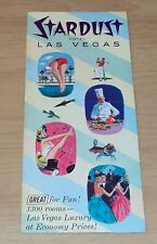 "RARE ca 1958 ADVERTISING Brochure/Booklet~""STARDUST Hotel LAS VEGAS""~Maybe 1st~"