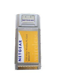 Netgear WG511T 108Mbps Wireless PC Card