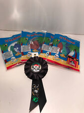4 PACKS OF 6 ~PIRATE PARTY BALLOONS AND A BIRTHDAY RIBBON ~