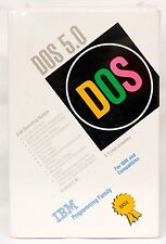 "NEW & FACTORY SEALED IBM DOS 5.0 (5.02) on 3.5"" Floppy Disks"