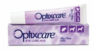 Optixcare Eye Lube Plus Pet eye lubricating drops (20g)