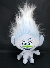 "Trolls Guy Diamond Singing Talking Plush Doll 14"" Stuffed Animal Blue Glitter"