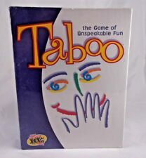 Vintage Taboo The Game of Unspeakable Truth Board Game Hasbro Hersch
