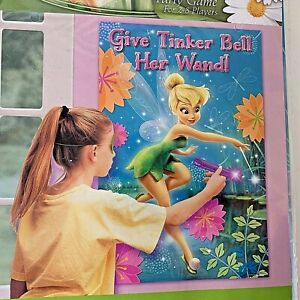 NIP Disney Fairies TinkerBell Give Tinker Bell Her Wand Party Game Supplies