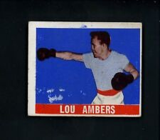 1948 Leaf Boxing # 88 Lou Ambers EX condition w/ print marks Boxer