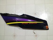 Yamaha FZR 600 Left side cover rear cowling tail section cowl frame vinatge bike