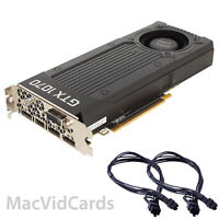 MacVidCards NVIDIA GeForce GTX 1070 8 GB GDDR5 Graphics Card for Apple Mac Pro