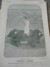 Original Print Régina Badet danseuse de l'opéra