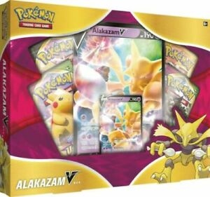 Pokemon Alakazam V Box Brand New Factory Sealed