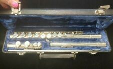 W.T. Armstrong Flute - Sterling Silver Head & Body, Model 90, Serial#: 28-25634