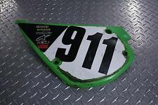 1994 KAWASAKI KX 80 LEFT LH SIDE COVER PANEL NUMBER PLATE 36001-1478 KX80 94
