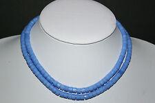 Böhmische russisch facettierte Beads opal blau