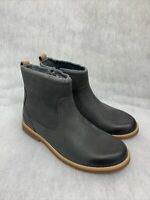 Girls Clarks Boots Comet Frost JNR Grey Leather Size 2F