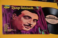 DJANGO REINHARDT ET SON QUINTETTE LP ORIG FRANCE 1966 TOP JAZZ DECCA UNBOXED EX