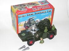 vintage Codeg rocket firing armoured space car tank boxed Hong Kong friction