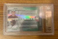 2008 Donruss Elite Extra Edition Buster Posey Green SP /1500 Rookie BGS 9.5