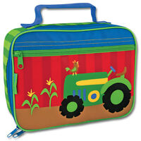 Stephen Joseph Tractor School Lunch Box for Kids - Lunch Bag for Boys