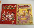 Vintage Coloring Books 1964 Birthday Stoney Hollow Waldman New No Use Vintage
