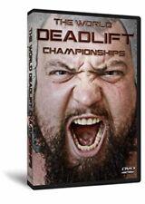 The World Deadlift Championships- Strongman DVD- Eddie Hall/ Thor Bjornsson