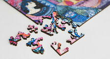 New Russian wooden Puzzles Anna Akhmatova return eco-friendly gift jigsaw