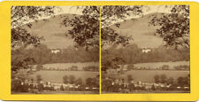 PERTHSHIRE SCOTLAND BATTLEFIELD OF KILLIECRANKIE STEREOVIEW A.S.WELD MAR 16 1871