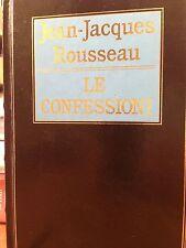 1991 ROUSSEAU - LE CONFESSIONI - CDE / EINAUDI