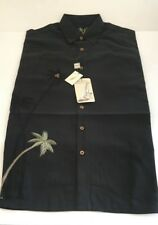 Bamboo Cay Fine Resortwear Single Palm Tree with Coconut Buttons