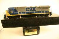 HO Scale 85021 Bachmann Spectrum Dash 8-40C CSX Locomotive # 7598