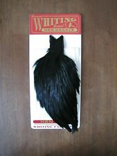 Fly Tying Whiting Farms Hen Cape Black #B