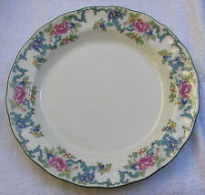 STUNNING UNUSED ROYAL DOULTON DINNER PLATE FLORADORA GREEN PRISTINE 2