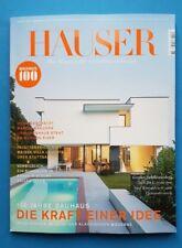 Häuser 6/2018 Dez./Jan. Das Magazin für Architektur & Design  ungelesen 1A