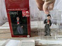 Carlton Cards Silent Star Charlie Chaplin Heirloom Collection Xmas Ornament NEW