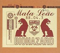 Biohazard Mata leão (1996) [CD]