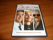 Charlie Wilson's War (DVD, 2008, Widescreen) Tom Hanks, Julia Roberts Used