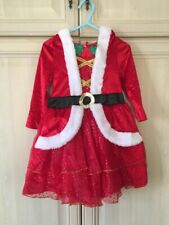Girl's Red Christmas Dress 2-3 Years