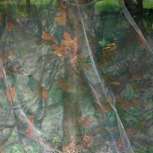 KCT CAMOUFLAGE NET CLEAR VIEW HIDE SHOOTING HUNTING WOODLAND NETTING 3M X 1.6M