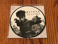 PRINCE LETTING IT GO 7-INCH PICTURE DISC ~ 1994