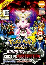 Pokemon Movie 17 : Diancie And The Cocoon Of Destruction DVD English Version