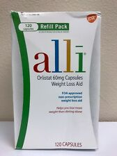 NEW Alli Weight Loss Aid 120 Capsules 60mg