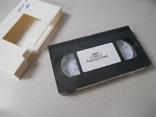 BMW VHS Video Cassette Tape Running Footage K 1200 LT #N