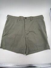 Men's Lands End Olive Green Shorts Size 40