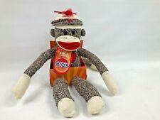 """2007 Mr. Magorium's Wonder Emporium Sock Monkey Plush 20"""" Tall NOS"""
