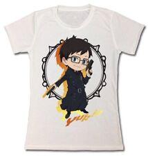 Blue Exorcist Yukio Sublimated T-shirt Large Junior's Womens Anime Hot Topic New